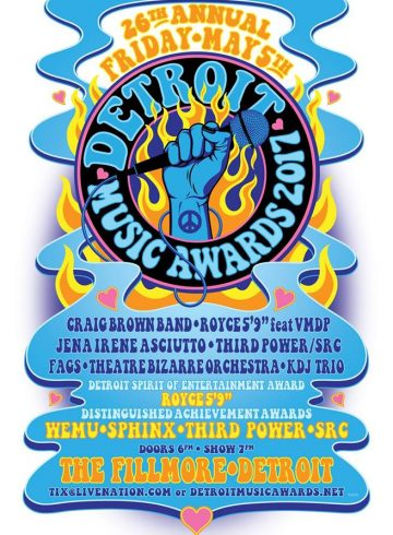Bob Bauer Live Broadcast from the 26th Annual Detroit Music Awards